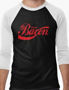 enjoy bacon Men's Baseball ¾ T-Shirt
