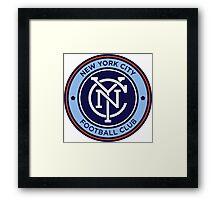 New york city fc Framed Print