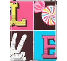 L.O.V.E  iPad Case/Skin