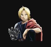 Fullmetal Awesomeness Ver.2: Original Digital Painting of Edward Elric from The Popular Anime/Manga Fullmetal Alchemist Mens V-Neck T-Shirt