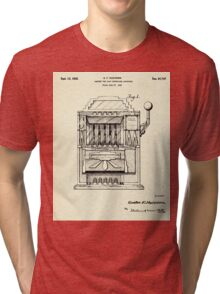 Cabinet for Coin Controlled Apparatus-1932 Tri-blend T-Shirt