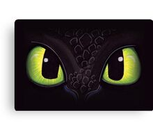 Night Eyes Canvas Print