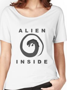 Alien Inside (Movie References) Women's Relaxed Fit T-Shirt