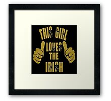 Irish Girl Framed Print