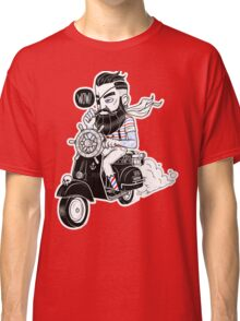 Vespa : Enjoy The Ride Classic T-Shirt