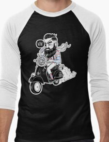 Vespa : Enjoy The Ride Men's Baseball ¾ T-Shirt