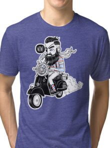 Vespa : Enjoy The Ride Tri-blend T-Shirt