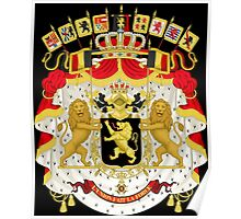Great Coat of Arms of Belgium Poster