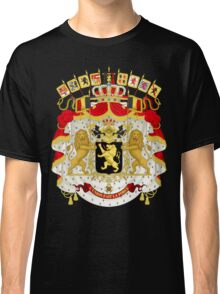 Great Coat of Arms of Belgium Classic T-Shirt