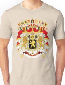 Great Coat of Arms of Belgium Unisex T-Shirt