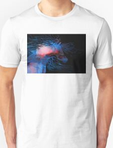Abstract Wild Horse Red And Blue Unisex T-Shirt