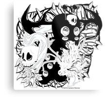 Impish Eyes Metal Print