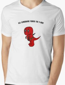 RexPool Mens V-Neck T-Shirt