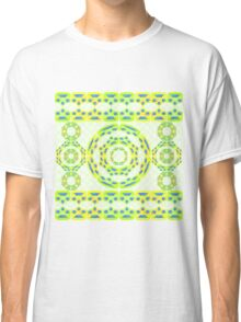 Geometric abstract composition Classic T-Shirt