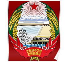 Emblem of North Korea Poster