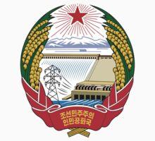 Emblem of North Korea Kids Tee