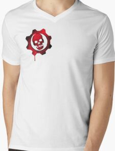 gears of war Mens V-Neck T-Shirt