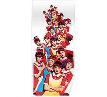 Red Velvet The Red White Ver Kpop Poster