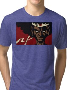 Black Samurai - cool Tri-blend T-Shirt