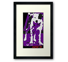Watch 'Im-Grrrr Digitaldog Framed Print