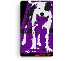 Watch 'Im-Grrrr Digitaldog Canvas Print