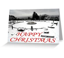 HAPPY CHRISTMAS 3 Greeting Card