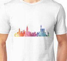 New York Colourful Skyline 2 Unisex T-Shirt