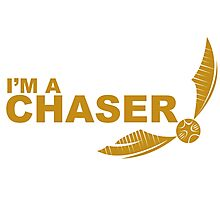 I'm a Chaser - yellow  Photographic Print