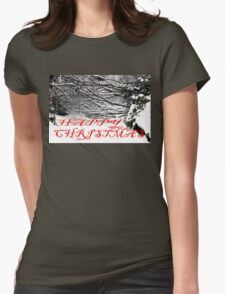 HAPPY CHRISTMAS 4 Womens Fitted T-Shirt
