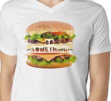 Hamburger-Do something- Fast food  Mens V-Neck T-Shirt