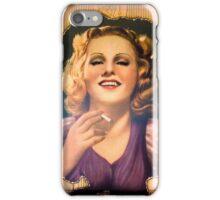 Vintage Woman 1 iPhone Case/Skin