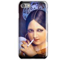 Vintage woman 2 iPhone Case/Skin