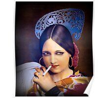 Vintage woman 2 Poster