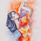 Flamenco Dancer by gerardo segismundo