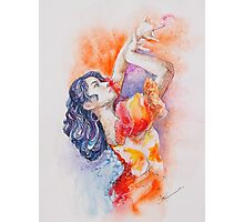 Flamenco Dancer Photographic Print