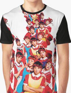 Red Velvet The Red White Ver Kpop Graphic T-Shirt