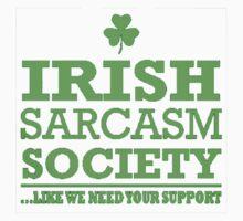 Irish Sarcasm Society Kids Tee