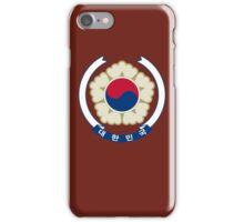 Emblem of South Korea iPhone Case/Skin