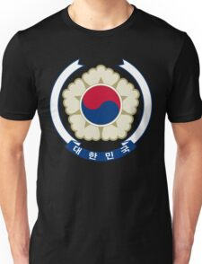 Emblem of South Korea Unisex T-Shirt