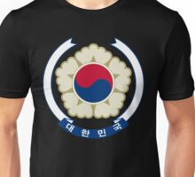 Emblem of South Korea Unisex T-Shirt