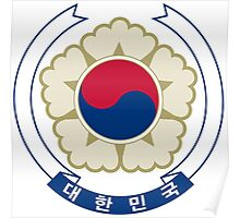 Emblem of South Korea Poster