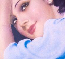 Vintage Woman 3 Sticker