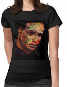 Marlon Fucking Brando. Womens Fitted T-Shirt