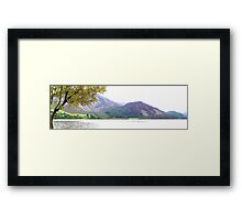 Bowness Knott and Ennerdale Water, Cumbria, UK Framed Print