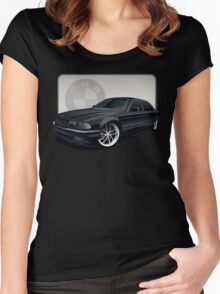 bmw : 1997 740il Women's Fitted Scoop T-Shirt
