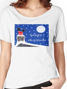 HAPPY CHRISTMAS 8 Women's Relaxed Fit T-Shirt