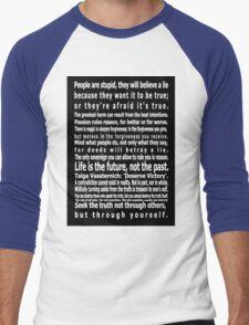 The Wizards Rules Men's Baseball ¾ T-Shirt
