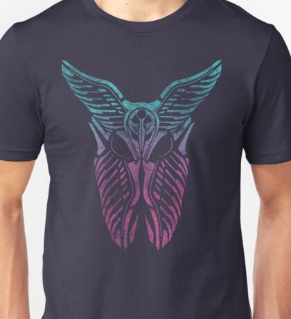 Shard Helm [ TURQUIOSE & PINK ] Unisex T-Shirt