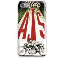 ride AJS iPhone Case/Skin