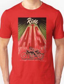 ride AJS Unisex T-Shirt